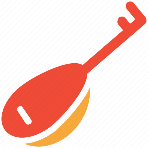 lute, music, music instrument, tamboura icon