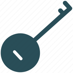 banjo, guitar, mandolin, music instrument icon