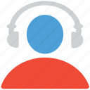 earphone, head set, headphone, listen