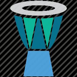 drum, kettle drum, musical instrument, timpani icon