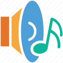 music, music sound, sound, speaker icon