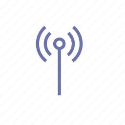connection, music, radio, signal, video, wi fi icon