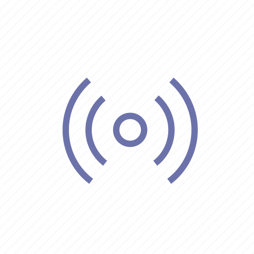 connection, music, radio, signal, video, wi fi icon