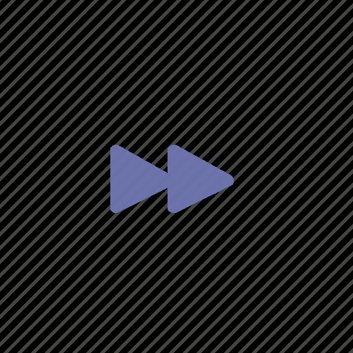 music, next, rewind, triangle icon