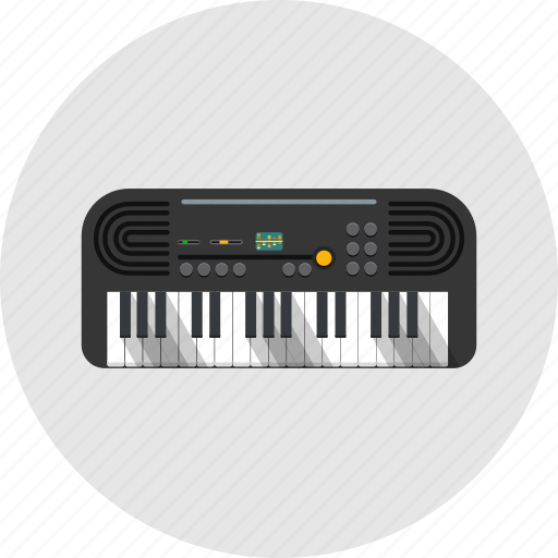 audio, equalizer, instrument, music, piano, sound, synthesizer icon