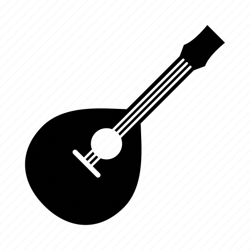 band, instruments, mandolin, music, musical instrument, song, strings icon