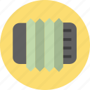 accordion, music, musical instruments icon