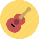 guitar, music, musical instruments icon