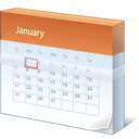 calendar, date, january icon