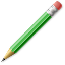 edit, pencil, write, write & erase icon