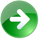 arrow, end, green, last, next, play, right icon
