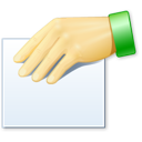 hand, people, properties, share icon