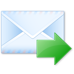 email, forward, letter, mail, send, sending emails icon