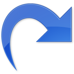 Arrow, back, forward, redo, white icon | Icon search engine