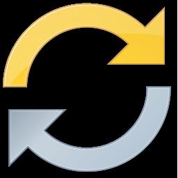 refresh, sync, synchronize icon