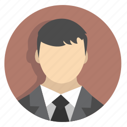 businessicon, face, hair, jacket, man, people, tie icon