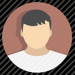 businessicon, businessman, face, hair, male, person, profile icon