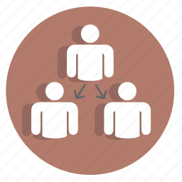 businessicon, group, hierarchy, human, people, person, team icon