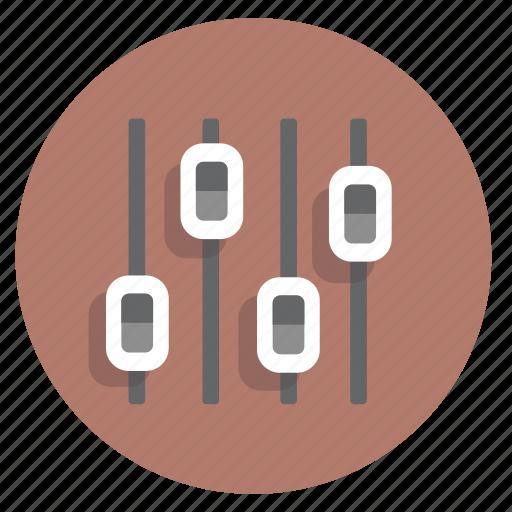 businessicon, control, dj, mixer, music, sound, volume icon