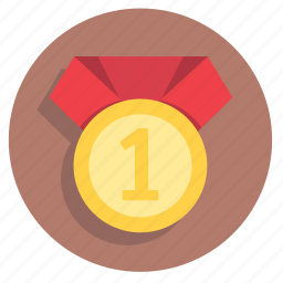 gold, medal, prize, star, top, trophy, win, winner icon