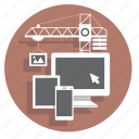 api, architecture, building, buildings, construction, developer, soft icon