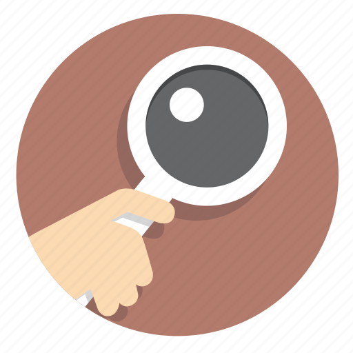glass, magnifier, search, view, web, zoom icon