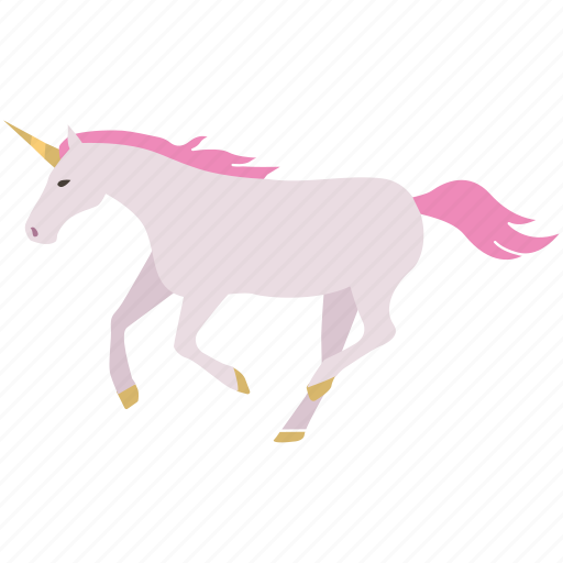 creature, fantasy, horse, pony, princess, re'em, unicorn icon