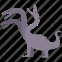 monster, serpent, fantasy, beast, hydra, lernaean, creature icon