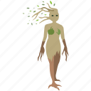 nature, nymph, tree, ent, mother, dryad, spirit