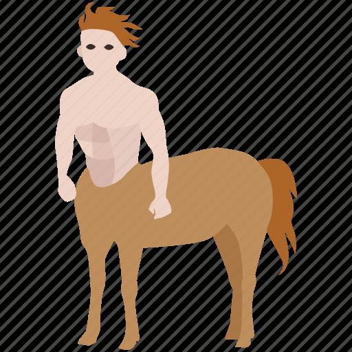 centaur, creature, greek, hippocentaur, horseman, mythological, mythology icon