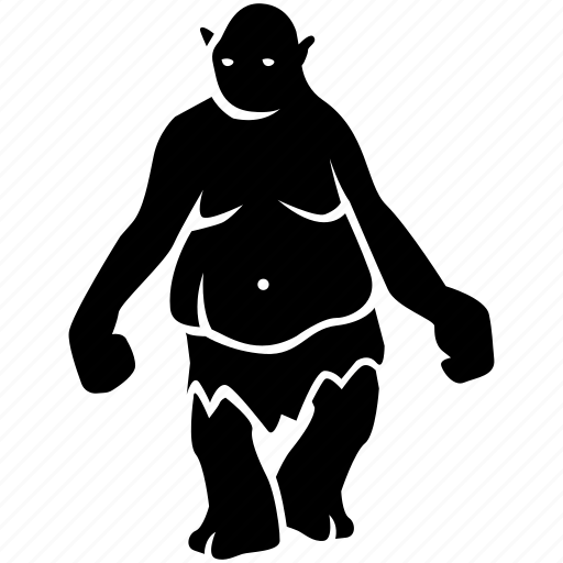 Fantasy, folklore, giant, monster, ogre, troll icon - Download on Iconfinder