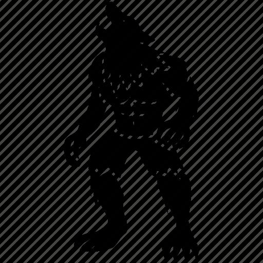 Beast, lycan, lycanthrope, man, werewolf, wolf, wolfman icon - Download on Iconfinder