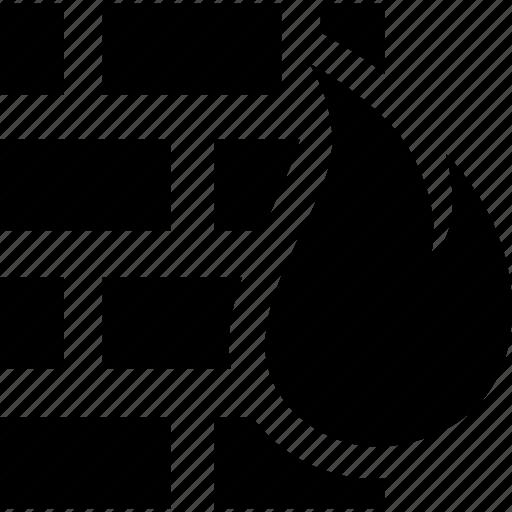 firewall, web service icon