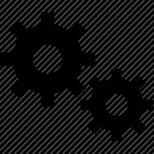 fix, gear, web service icon