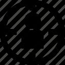 target, targeting, web service icon