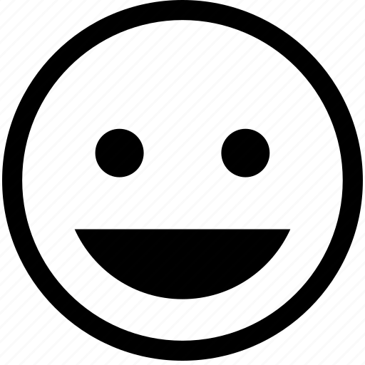 smile, smiley, web service icon