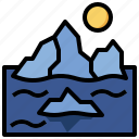 glacier, global, warming, iceberg, climate, change, ecology
