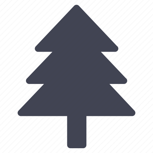 christmas, forest, large, nature, park, pine, tree icon