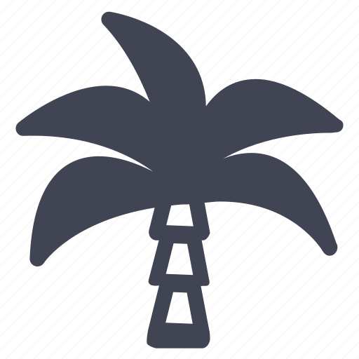 ecology, nature, palm, tree, tropical icon