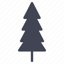 christmas, forest, nature, pine, thin, tree icon