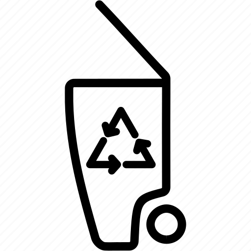 dustbin, ecology, environment, garbage, recycle, recycling, trash icon