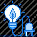 bio electricity, bioenergy, eco energy, environmental energy, organic energy, power of nature, renewable energy icon