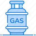 cooking gas, gas cylinder, gas tank, lpg gas, storage tank icon