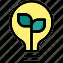 bulb, eco, energy, idea, light