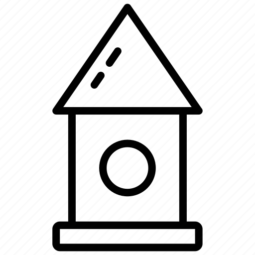 bird box, bird feeder, birdhouse, house for birds, rural box icon