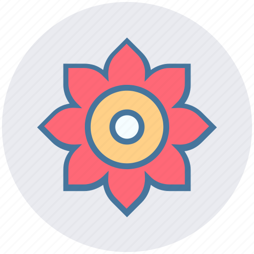 blossom, flower, forest, garden, nature, plant icon