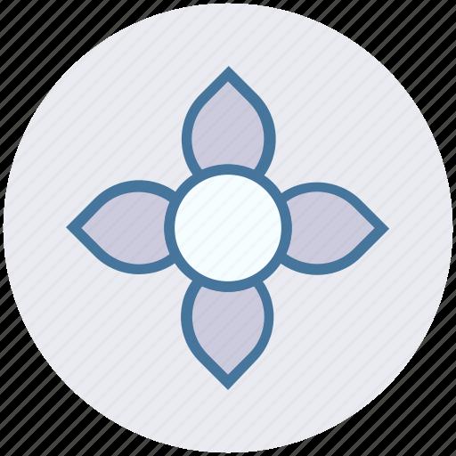 bloom, flower, garden, nature, park icon