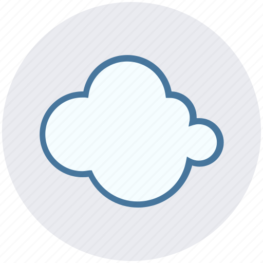 cloud, cool, nature, summer, weather icon