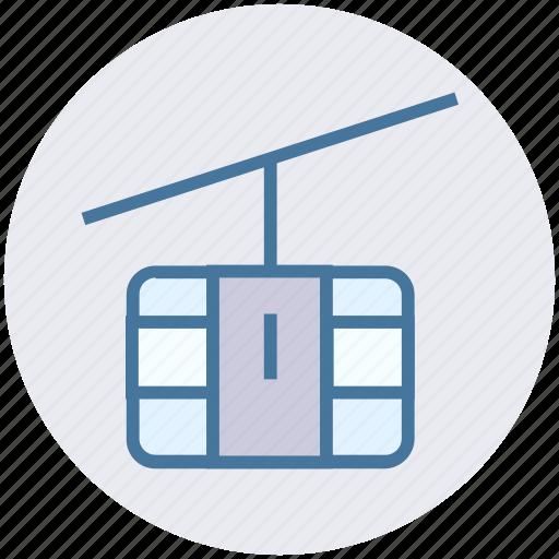 aerial lift, chair lift, park, ropeway, ski lift, transport icon