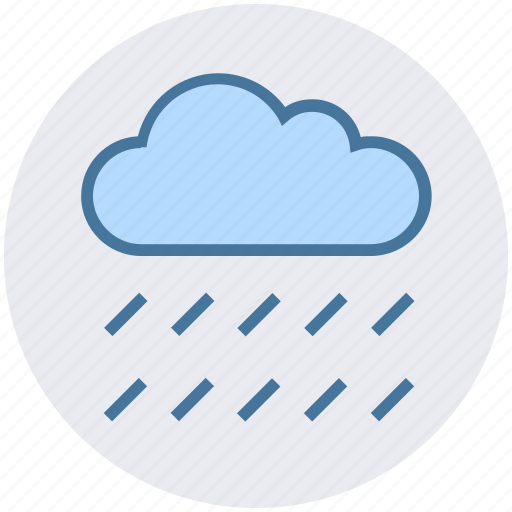 cloud, cool, nature, rain, summer, weather icon